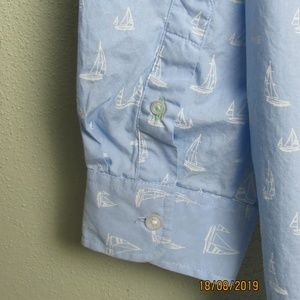 Club Room Shirts - Club Room Sailboats Shirt XXL